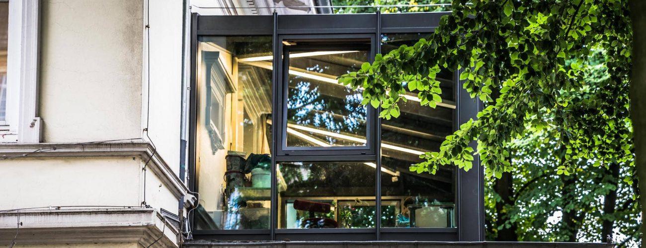 Wintergärten und Terassendächer aus Aluminium